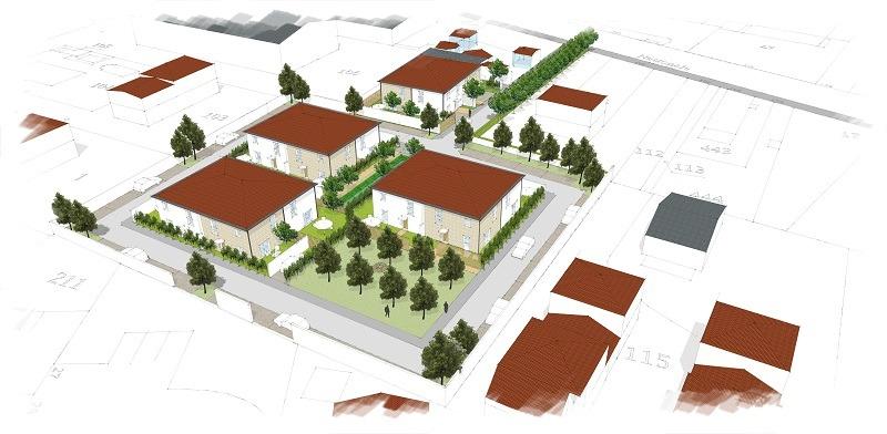 logements Pinoncely à Saint-Bonnet-de-Mure (69)