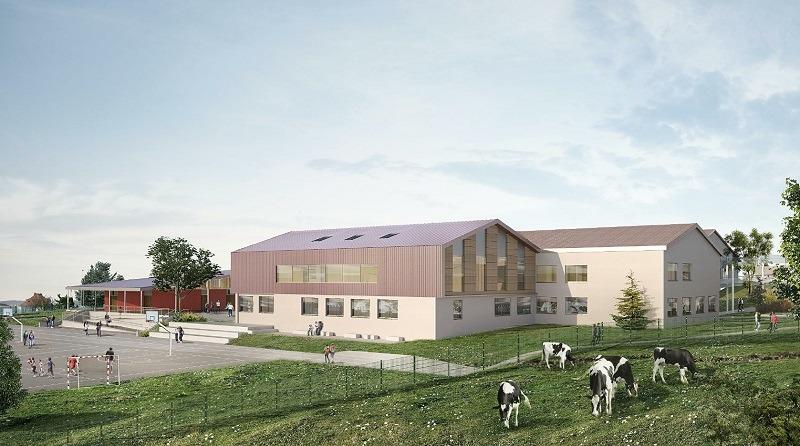 Collège Jacques Brel à Chazelles-sur-Lyon (42)