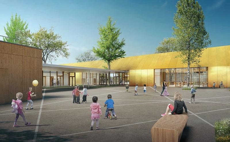 Ecole Elémentaire Jean Macé et Ecole Maternelle Jean de la Fontaine à Châteaudun (28)