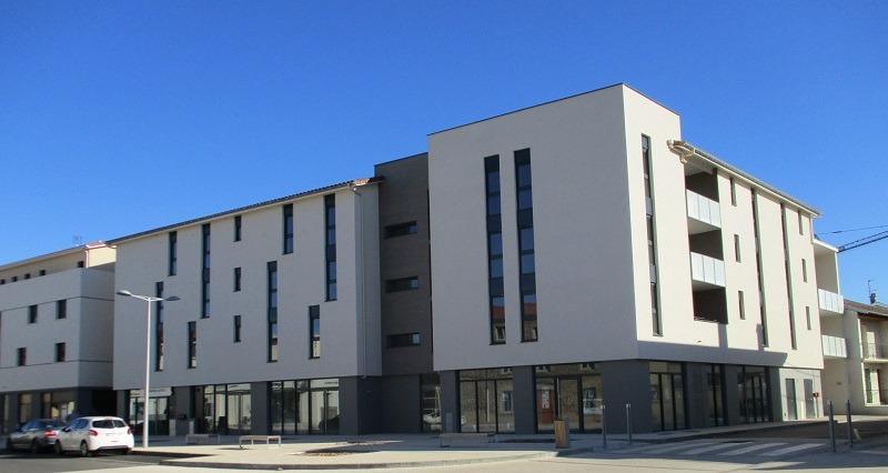 Logements et commerces - Drôme Aménagement Habitat - Anneyron (26)