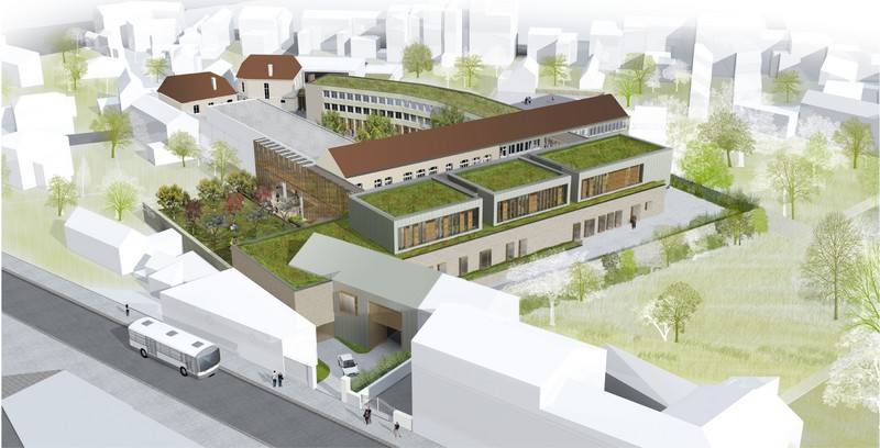 Collège Lucien-Cézard - Fontainebleau (77)