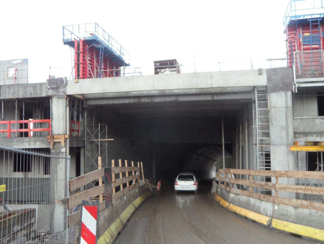 Agrandissement d'un tunnel routier - Club Med de Samoëns (74)