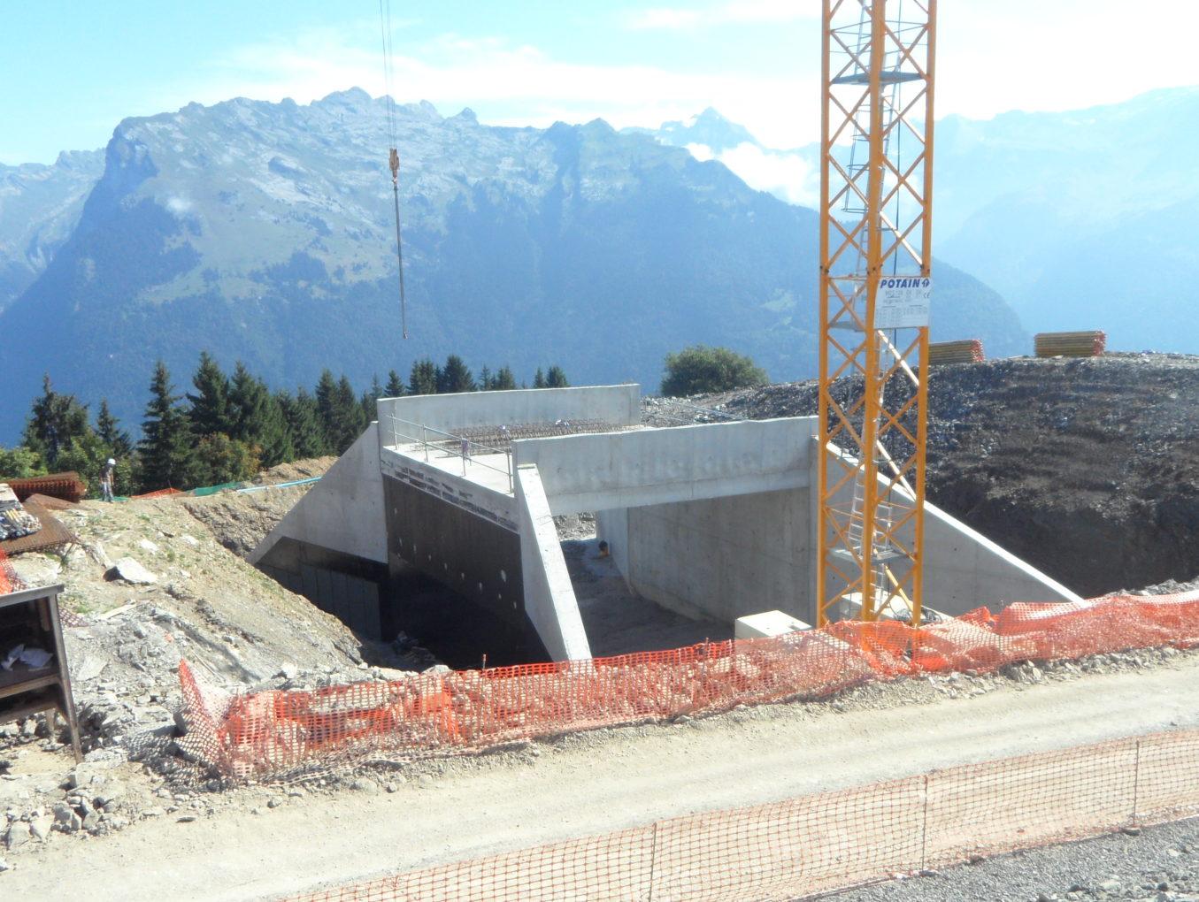 Tunnel skieurs - Club Med de Samoëns (74)